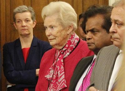 Andra Sutcliffe (CQC), Dame Gillian Wagner, NCA Member & Raj Singh (NCA Board)
