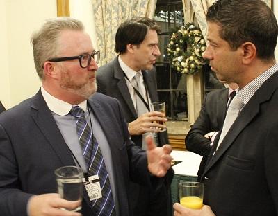 Marty Drumm (British Gas) & Dasos Kirtsides (Santander)