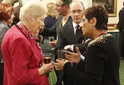 Nadra Ahmed OBE (NCA Chair), Dame Gillian Wagner & Sir Andrew Dilnot CBE