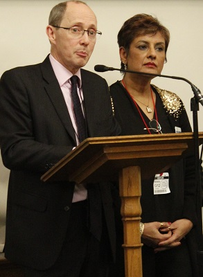 Nadra Ahmed OBE (NCA Chair) & Sir Andrew Dilnot CBE