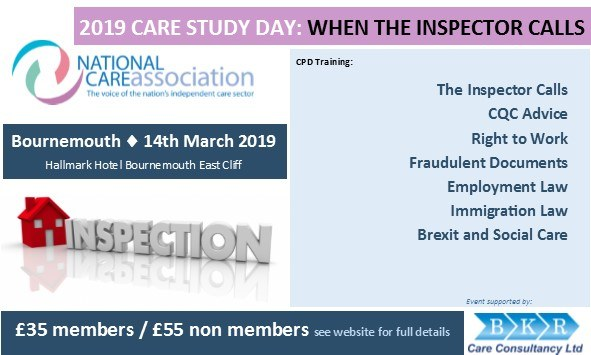 Care Study Day: When The Inspector Calls BOURNEMOUTH