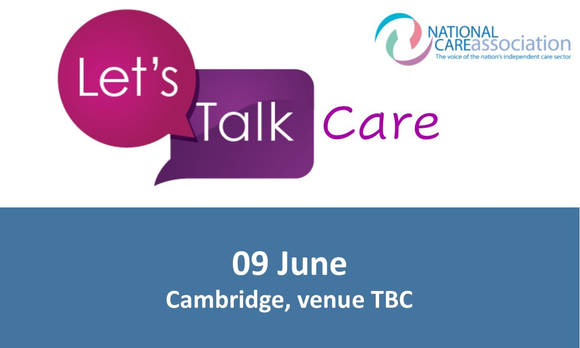 Lets Talk Care - East Region