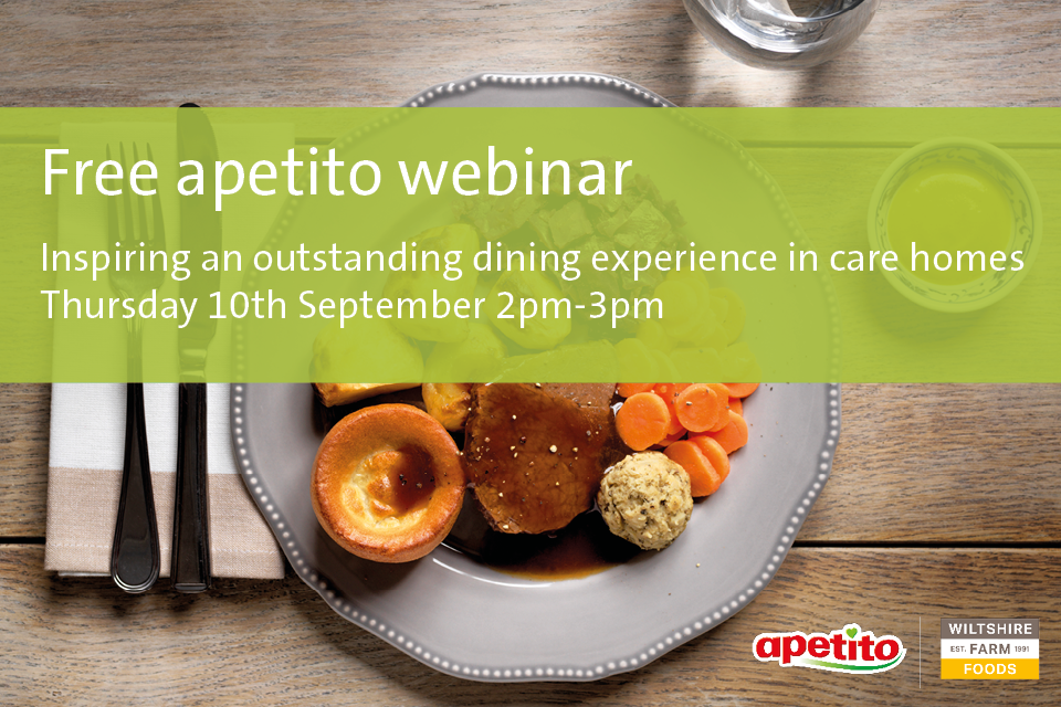 Free Webinar: dining experience in Care Homes