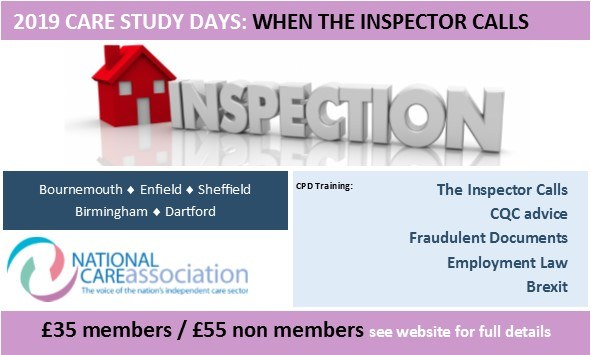 Care Study Day: When The Inspector Calls BIRMINGHAM