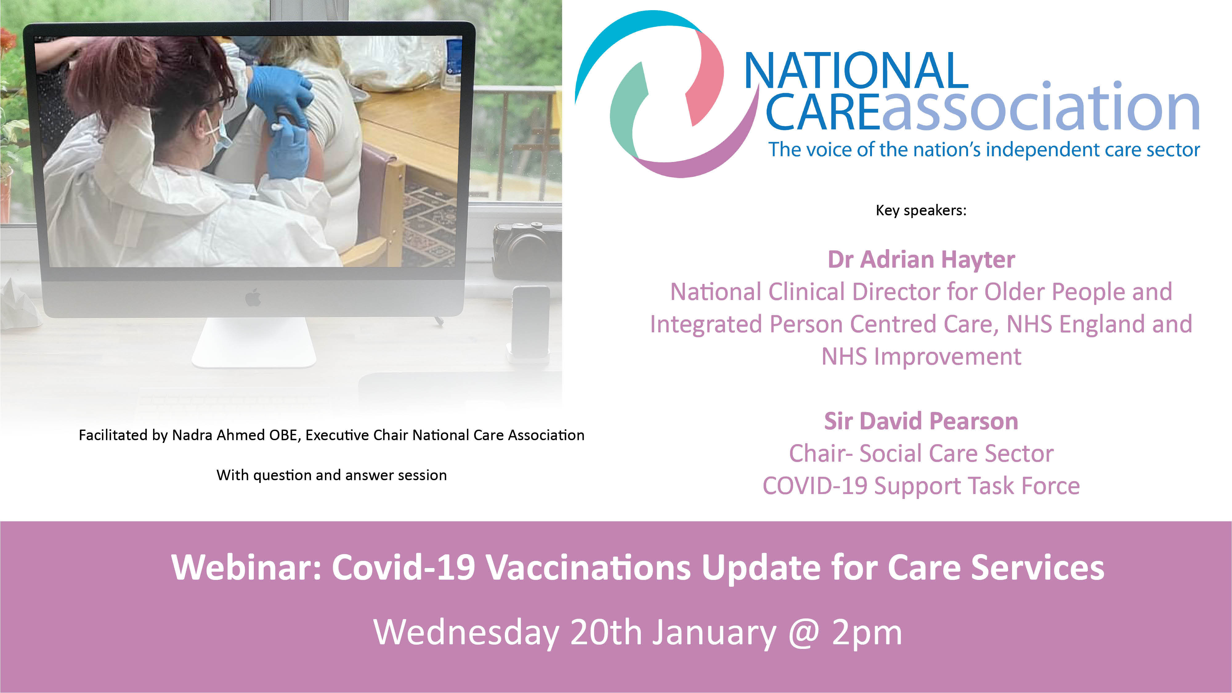 Covid-19 Vaccinations Update for Care Services