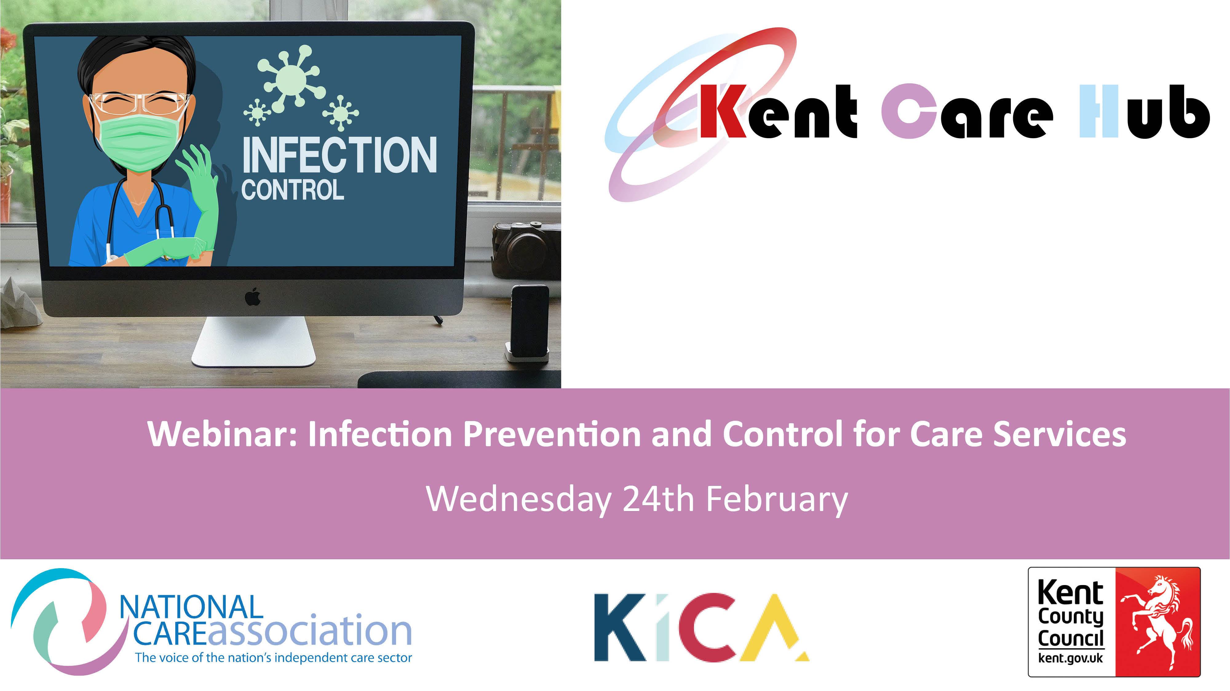 Webinar: Training on Infection Prevention and Control for Care Services