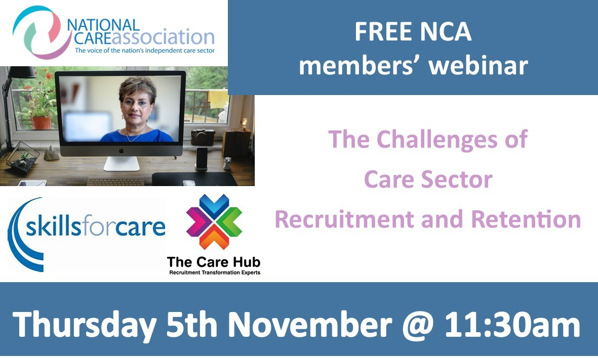 NCA Webinar: Challenges of Care Sector Recruitment and Retention