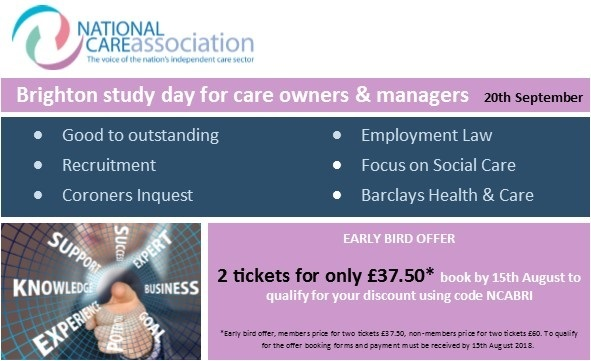 NCA Care Study Day (Brighton)