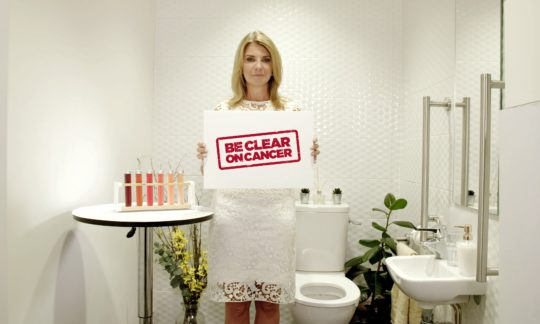 Be Clear on Cancer 'Blood in pee' campaign relaunches