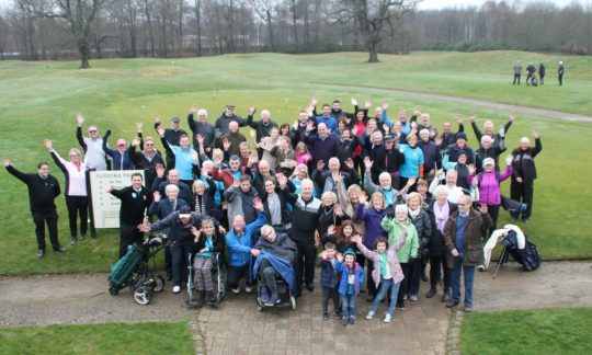 Golf goes head to head with dementia
