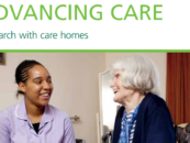 Advancing care: research with care homes